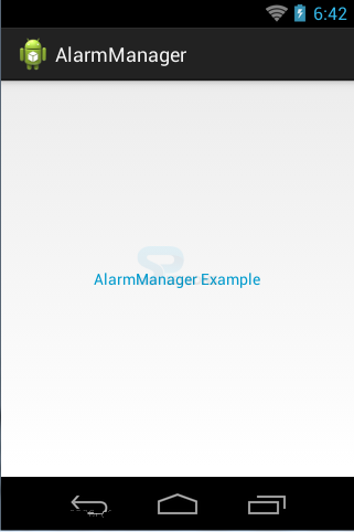 Android AlarmManager - SPLessons