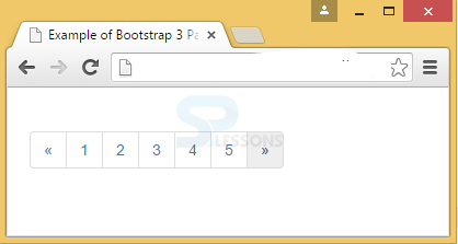 Bootstrap Pagination - SPLessons