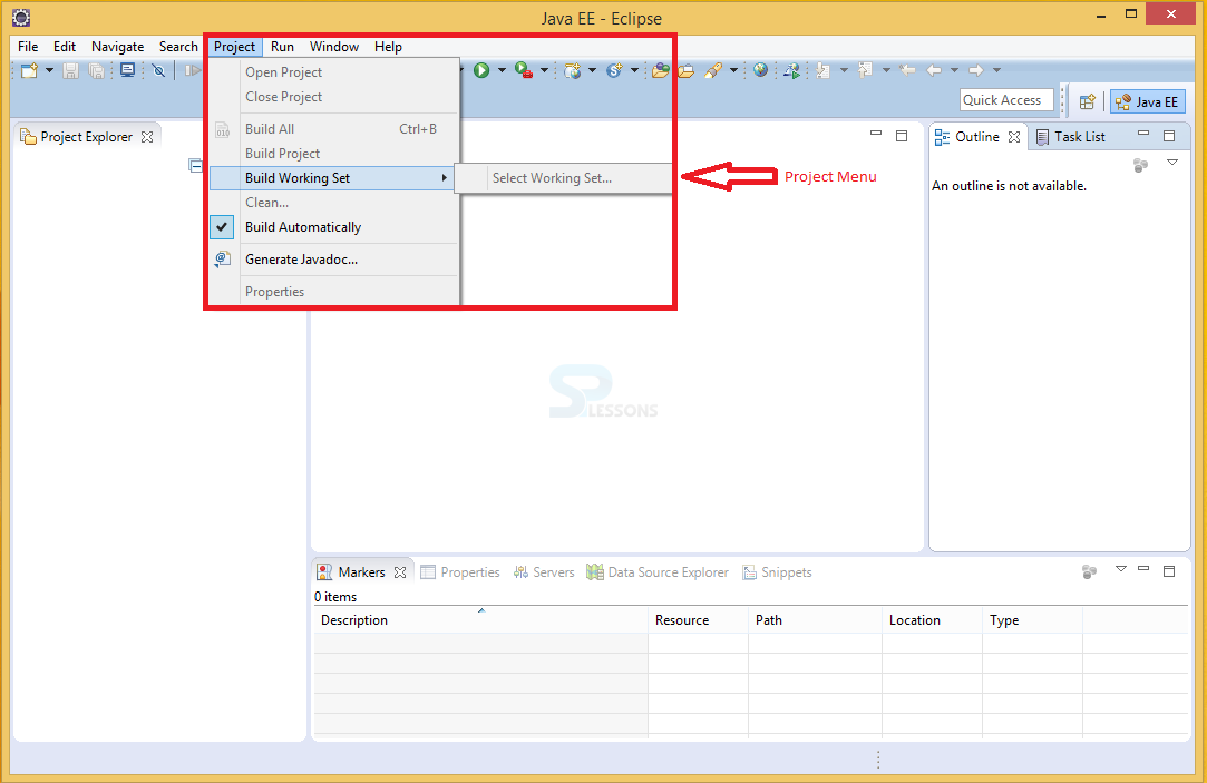 Eclipse Windows and Menus Overview - SPLessons