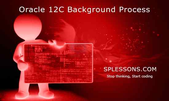 oracle 12c background process