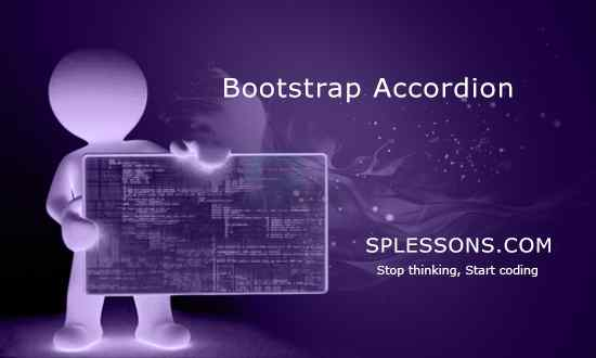 Bootstrap Accordion - SPLessons