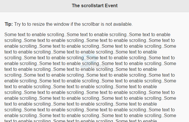 jQuery Mobile Scroll