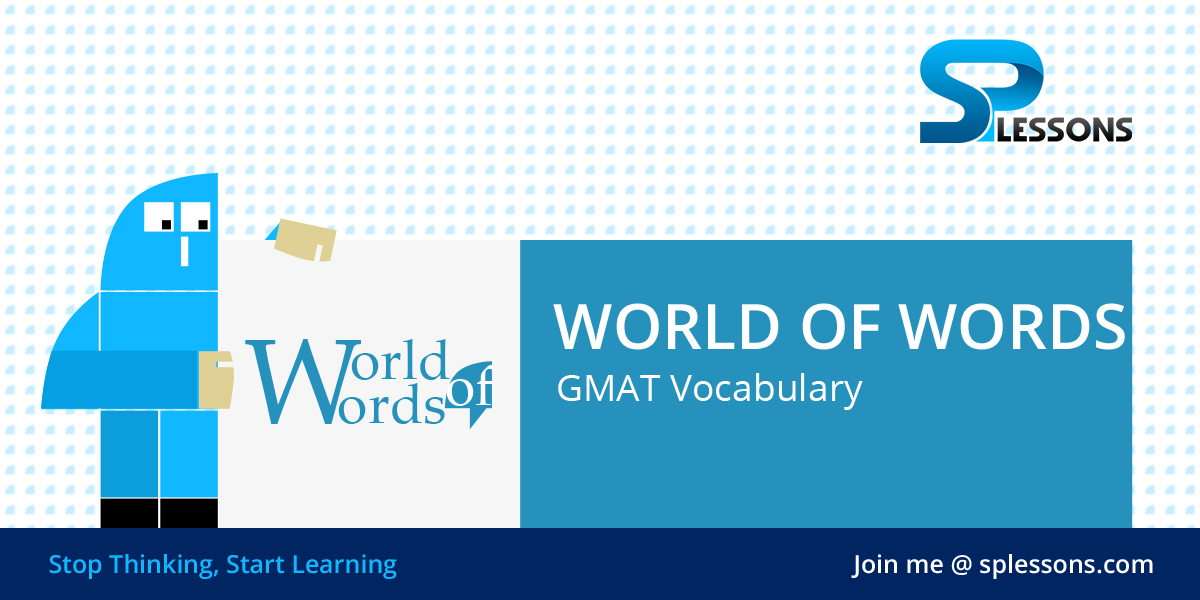 GMAT Vocabulary