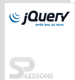 jQuery - SPLessons