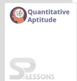Quantitative Aptitude - SPLessons