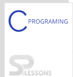 C Programming - SPLessons