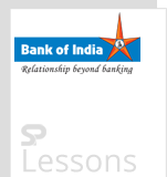Bank of India - SPLessons