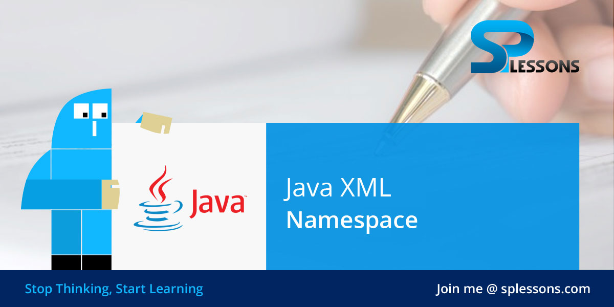 Java XML Namespace - SPLessons