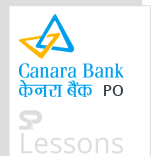 Canara Bank PO - SPLessons