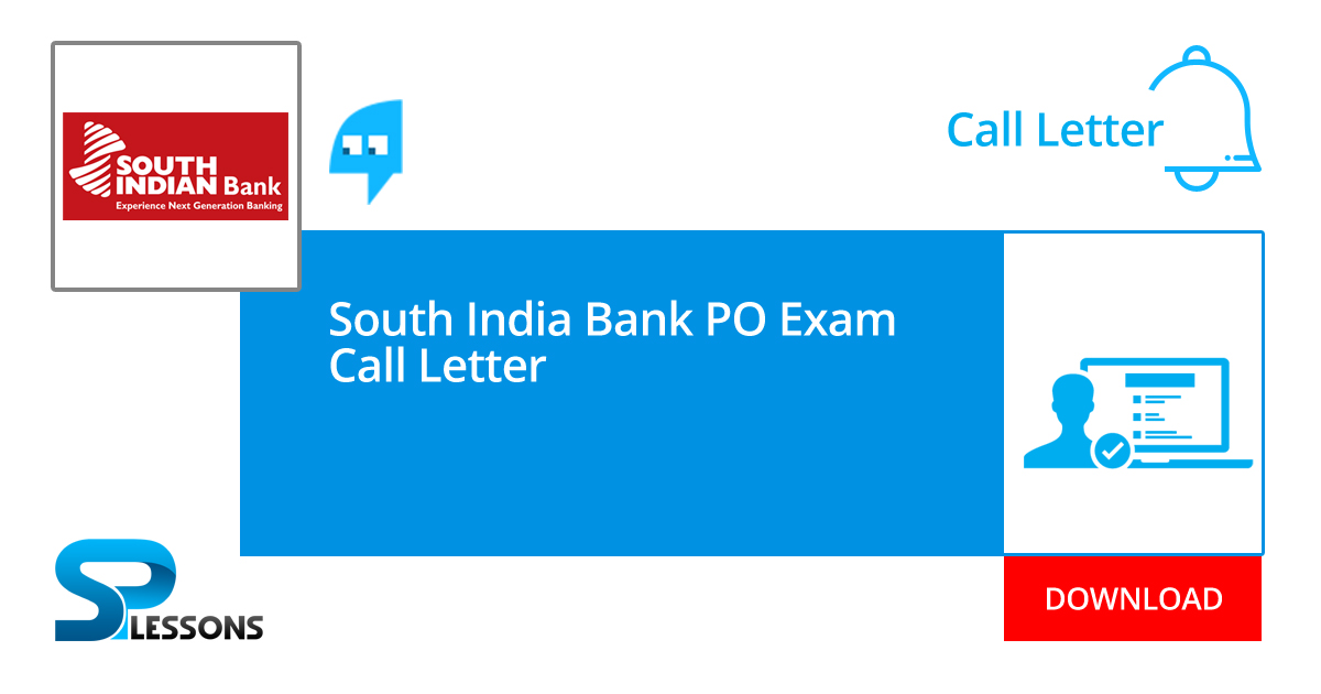 state bank of india po call letter 2014