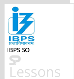 IBPS SO - SPLessons